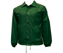 Coach Jacket Hanes forest green