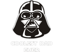 coolest dad ever darth